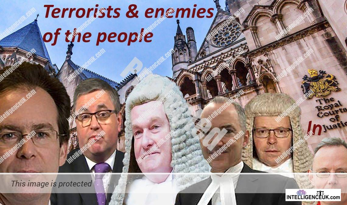 Corrupt UK judges - Geoffrey Vos Master of the Rolls, Lord Justice Nugee, Lord Justice Arnold, Mr Justice Snowden, Mr Justice Fancourt