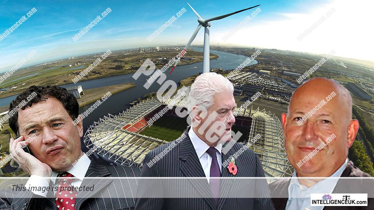 Ben Houchen - South Tees Development Corporation has been concealing fraud and corruption by his colleagues, Steve Gibson of Middlesbrough FC and Robin Bloom
