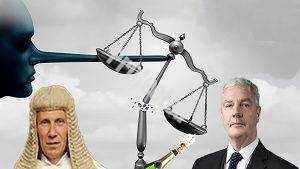 Lord Justice Nugee and his fellow corruptor Ulick Staunton - Geoffrey Vos Master of the Rolls