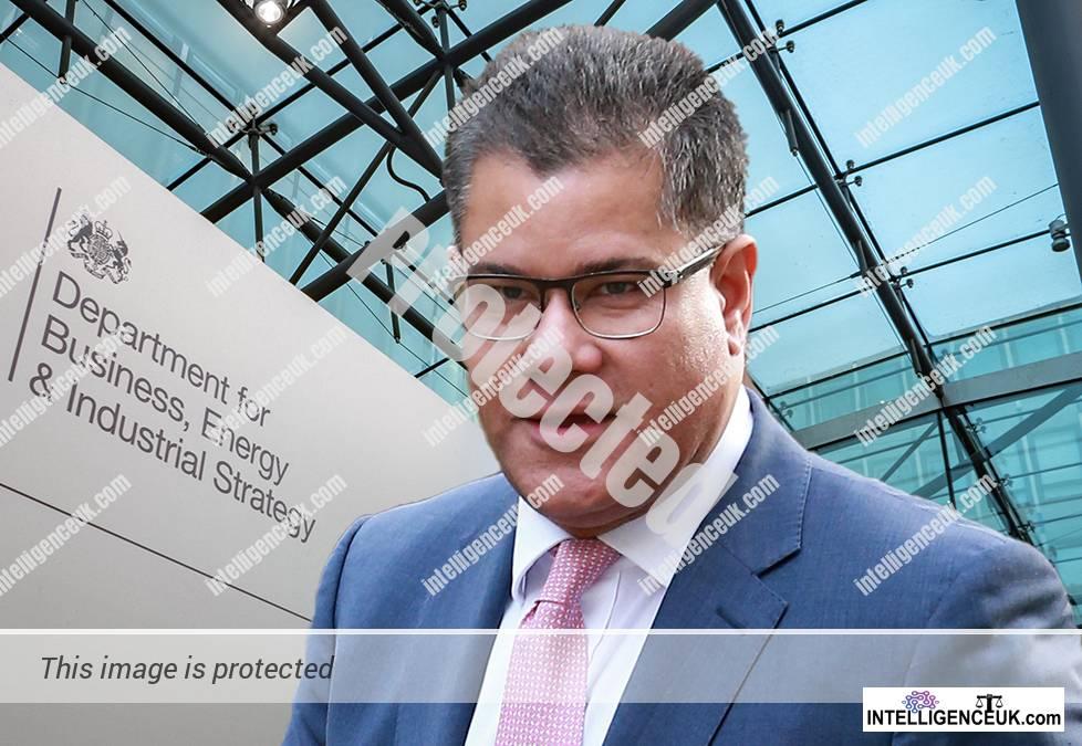 Alok Sharma - Secretary of State BEIS / Insolvency Service