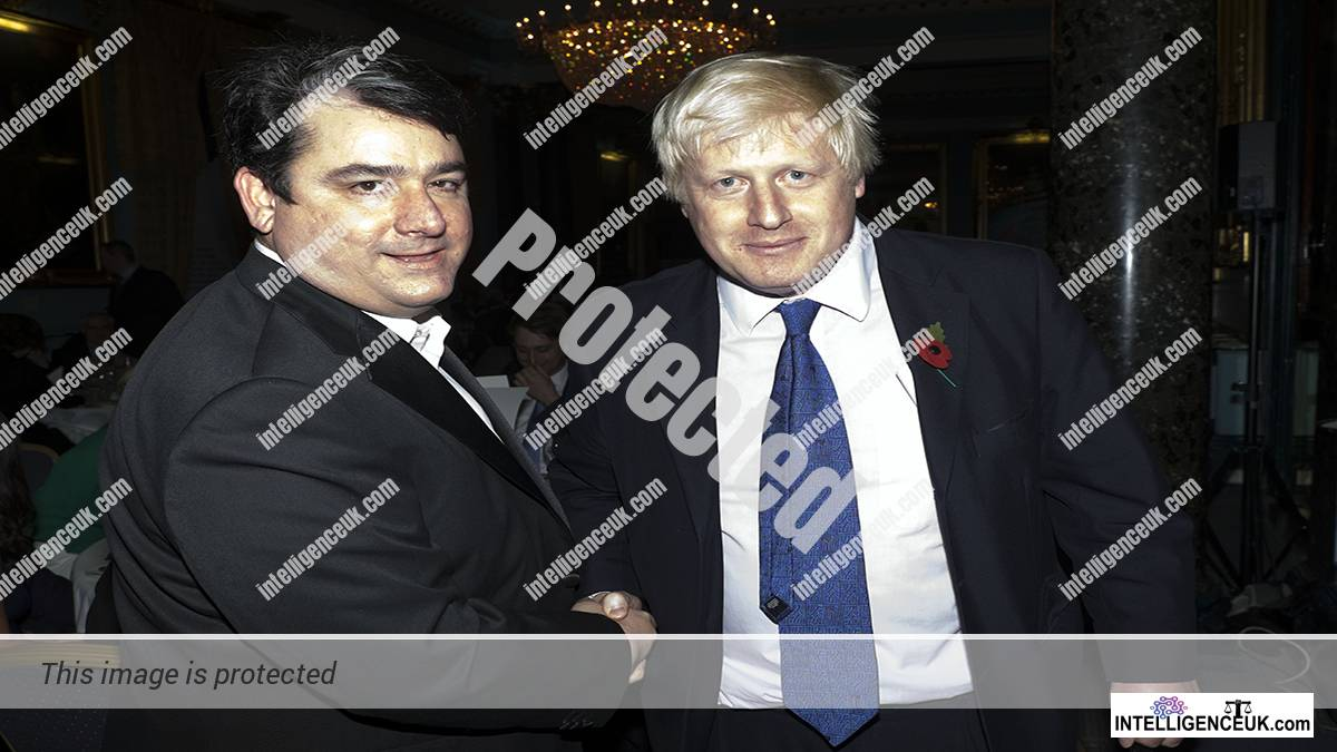 Paul Staines - AKA Guido Fawkes with Boris Johnson