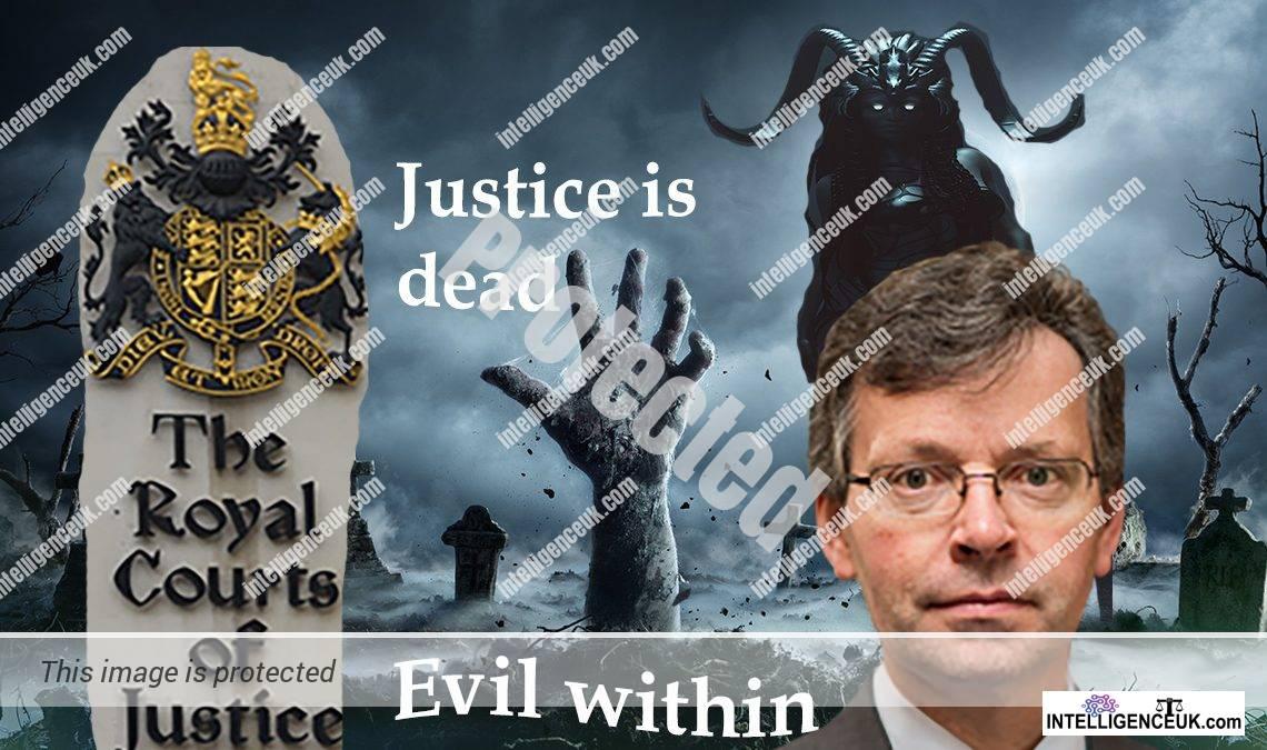 Mr Justice Fancourt - Timothy Miles Fancourt - Corrupt Judge
