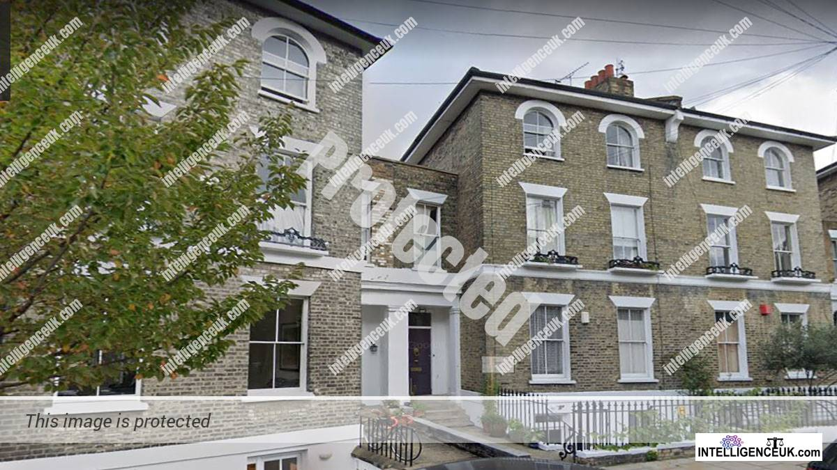 Lord Justice Nugee and Emily Thornberry MP's luxury townhouse in Islington