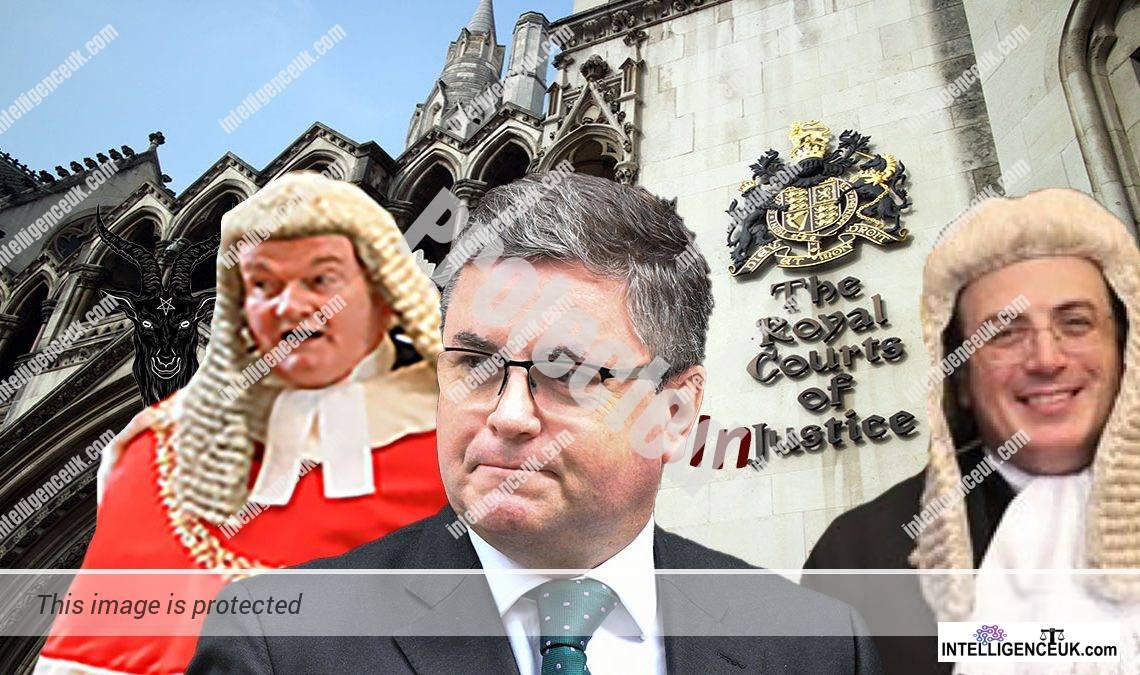 Corrupt UK judges