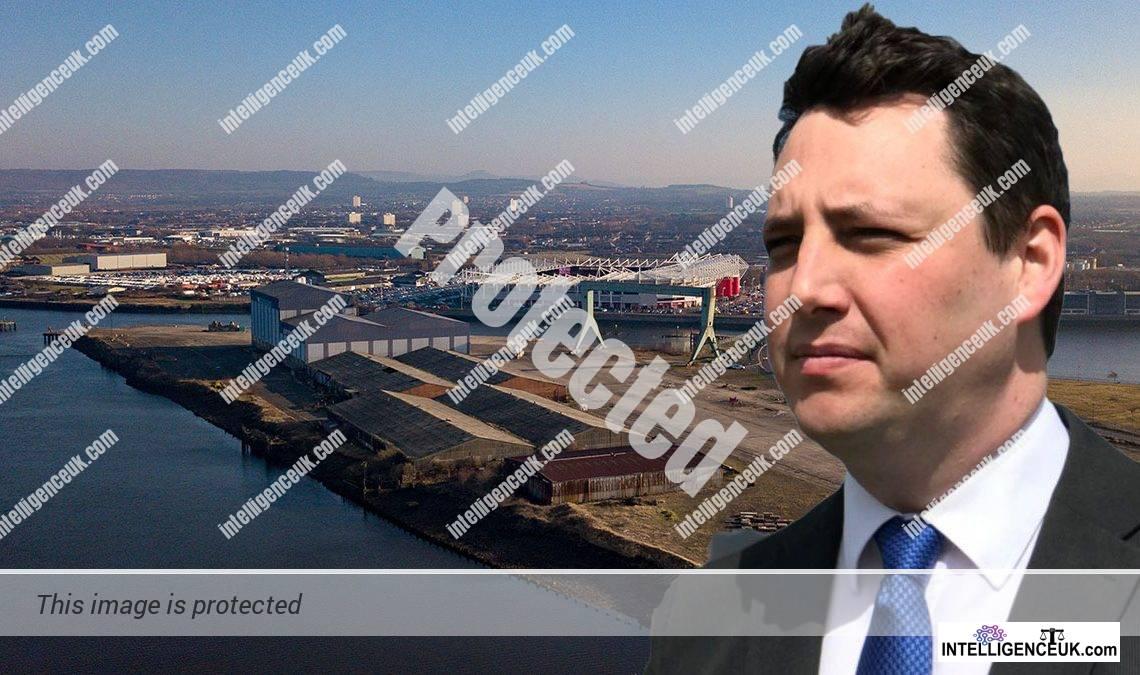 Ben Houchen - Tees Valley Mayor & South Tees Development Corporation Board Member