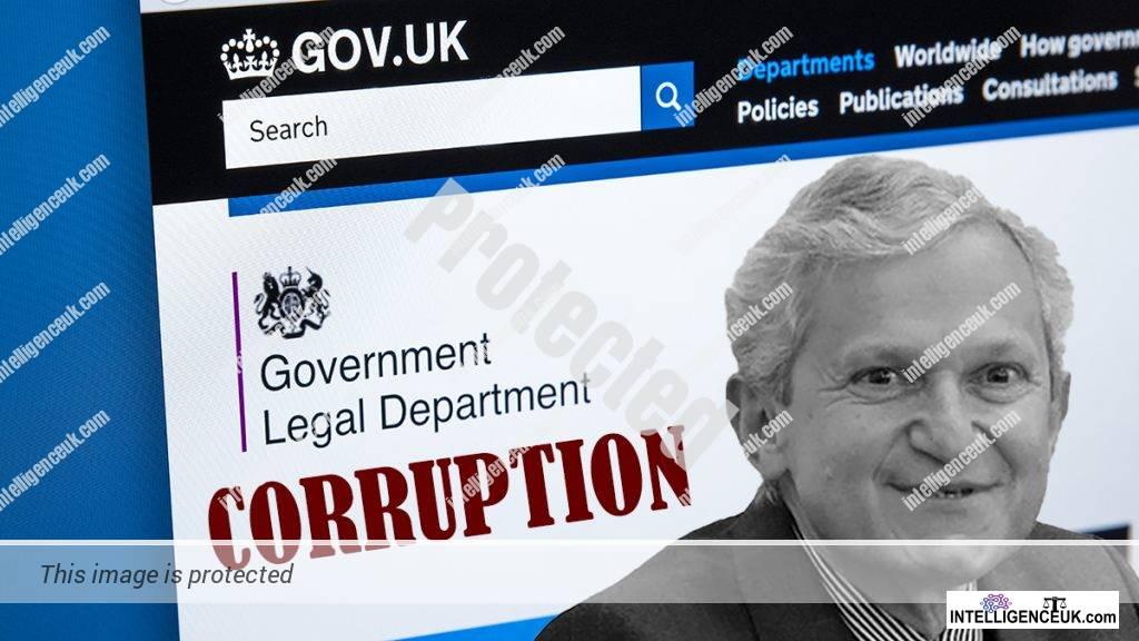 Government Legal Department corruption.