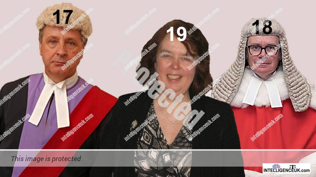 HHJ Prince, Lady Justice Andrews and Mr Justice Swift join the judicial hall of shame.